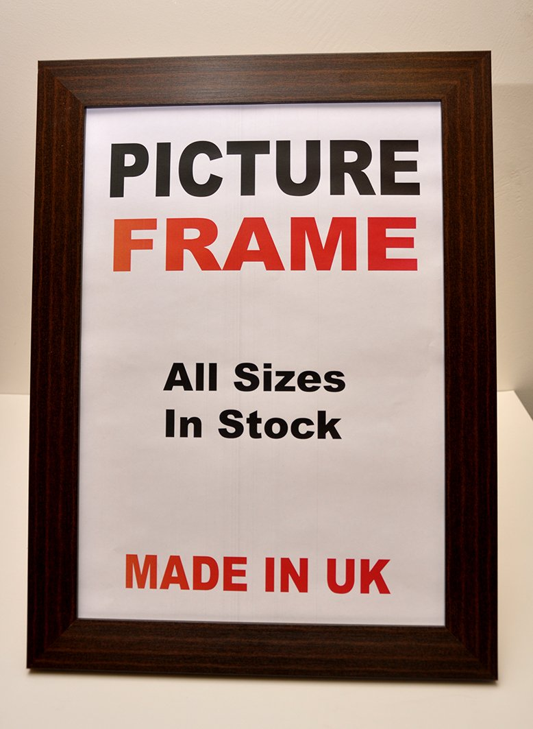 Polycore Mahogany Picture Frame