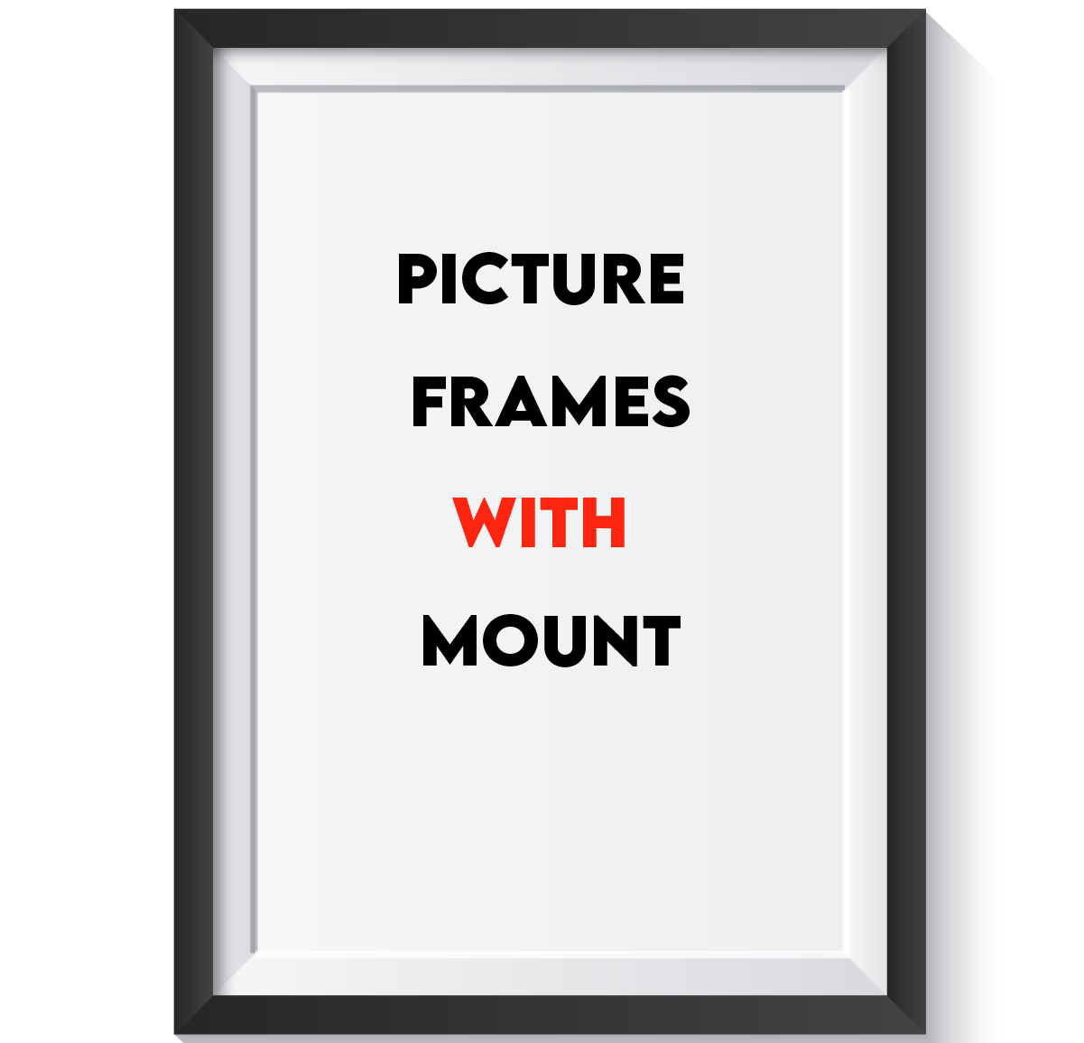 Picture Frames With Mounts
